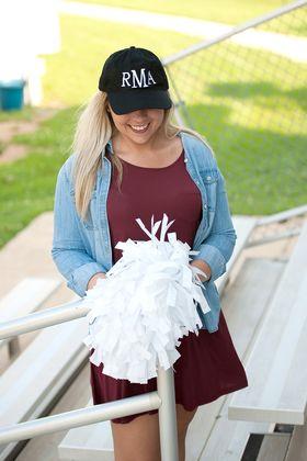 personalized baseball hats