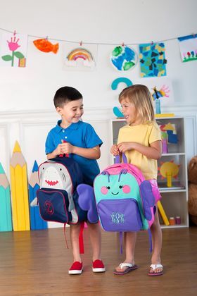 Monogram Preschool Backpack