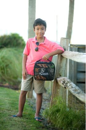 monogrammed boy lunchboxes,